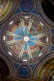 重要卡默利特平纹薄呢史特拉Maris mo的富有地装饰的圆顶 库存图片