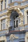 重要历史建筑在捷克共和国的布拉格 免版税库存照片