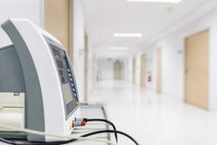 重要标志病人监护仪 库存图片