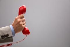重要电话 免版税库存照片