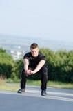重要锻炼为健康生活 免版税图库摄影