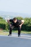 重要锻炼为健康生活 免版税库存图片