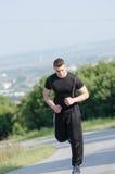 重要锻炼为健康生活 库存照片