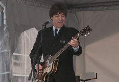 重赛Beatles 库存照片