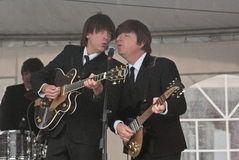 重赛Beatles 库存图片