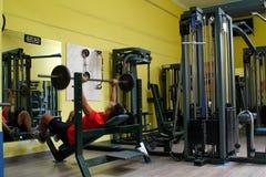 重量锻炼 免版税库存图片