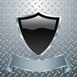 重金属的盾 免版税库存照片