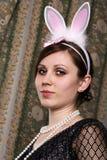 野兔妇女 库存图片