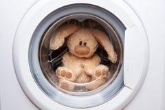 野兔软的玩具 免版税库存图片