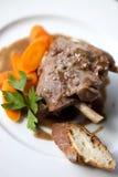 野公猪炖煮的食物 免版税库存图片