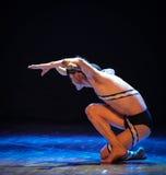 野兽差事到迷宫现代舞蹈舞蹈动作设计者玛莎・葛兰姆里 库存图片