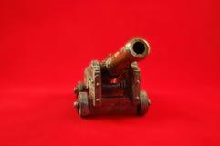 野战炮玩具 库存图片