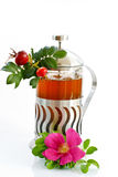 野玫瑰果茶 免版税图库摄影