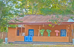 野生生物阵营在Yala国家公园,斯里兰卡 免版税库存图片