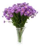 野花花束在花瓶的 库存图片