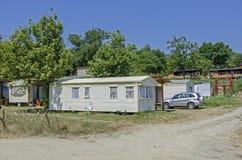 野营南部(水罐),保加利亚 库存照片
