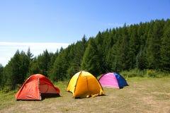 野营地 库存照片