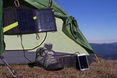 野营的元素设备 库存图片