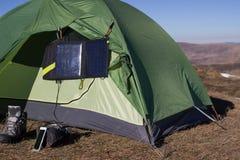 野营的元素设备 免版税库存图片