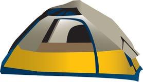 野营的帐篷 免版税库存照片