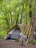 野营的帐篷 图库摄影