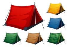 野营的帐篷   皇族释放例证