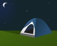 野营的晚上 库存照片