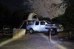野营的非洲南部 免版税图库摄影