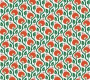野蔷薇的传染媒介无缝的样式 免版税库存图片