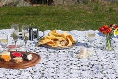 野餐传播 图库摄影