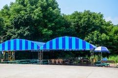 野餐区 免版税图库摄影