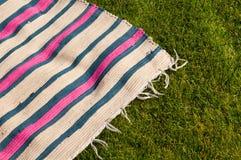 野餐毯子 免版税库存照片