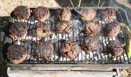 野餐的烤肉 库存图片