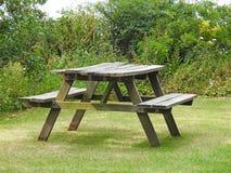野餐长凳 库存图片