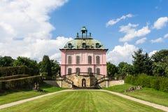 野鸡宫殿莫里茨堡,德国 免版税库存图片