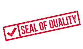 质量不加考虑表赞同的人封印  免版税库存照片