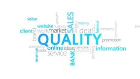 质量,生气蓬勃的印刷术 向量例证