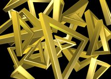 金三角设计 库存照片
