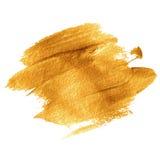 金丙烯酸漆 也corel凹道例证向量 图库摄影