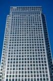 金丝雀码头塔,伦敦 免版税库存图片