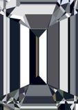 金刚石反射摘要背景传染媒介 图库摄影
