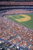 金刚石和漂白剂长远看法在职业棒球比赛,牛油树体育场, NY期间 免版税图库摄影