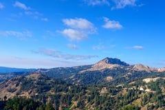 金刚石峰顶,加利福尼亚 库存照片