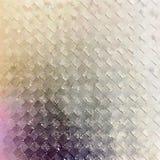 金刚石摆正抽象水彩最低纲领派墙壁艺术 库存照片