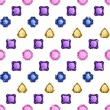 金刚石无缝的模式 向量例证