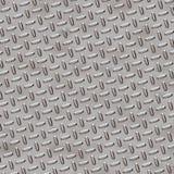 金刚石牌照-镀铬物灰色 免版税库存图片