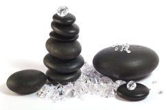 金刚石石头 库存照片