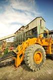 金刚石矿设备 免版税库存照片