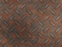 金刚石金属铁锈 库存图片