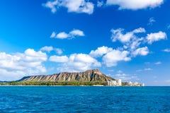 金刚石头,奥阿胡岛 免版税图库摄影